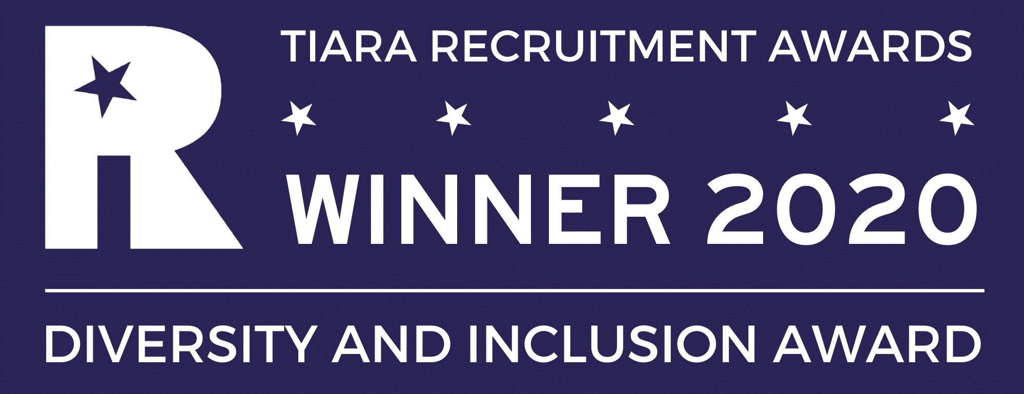 TIARA 2020 Winner