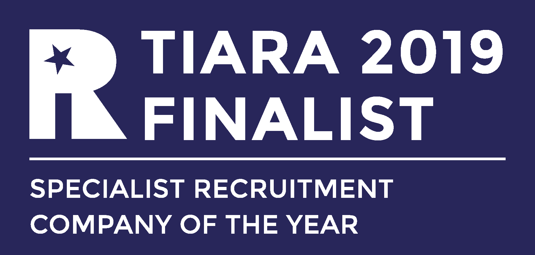 TIARA Specialist Recruitment Comp of the year FINALIST RGB