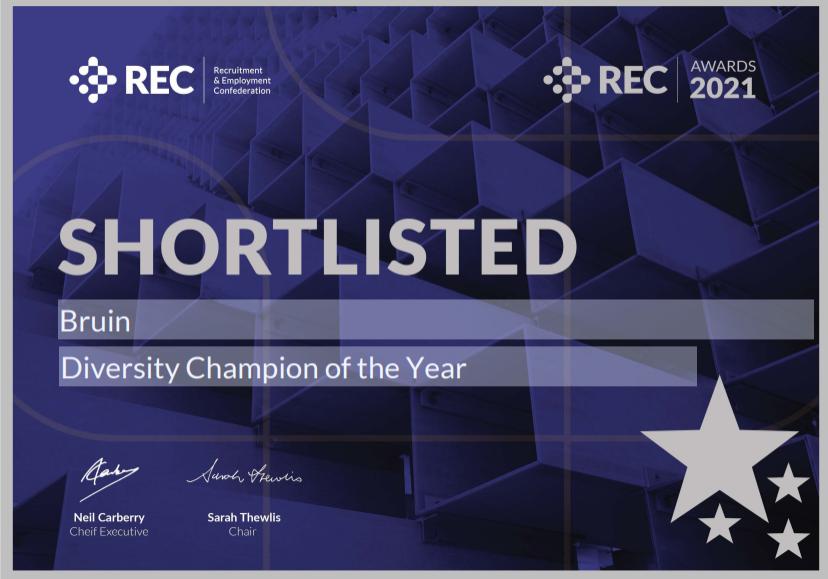 REC Awards Shortlisted